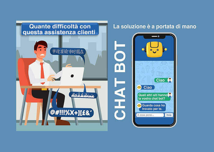 Assitenza Chat Bot Pagine Web