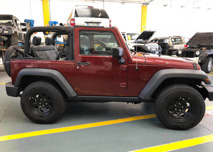 Auto Jeep Generation Officina Larossa 4x4
